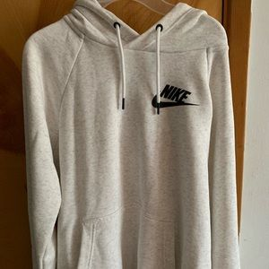 kind of oversized nike hoodie